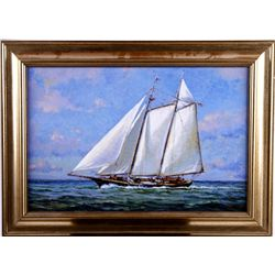 Giclee of Sailboat #62/100 by Wayne Morrell