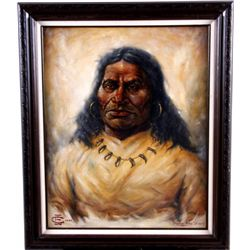 """Pawnee Killer - Sioux"" by C E Evans"