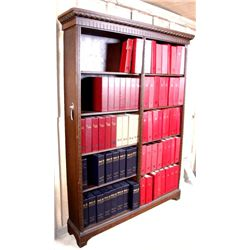 Antique 5 Shelf Library Bookcase