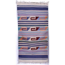 Contemporary Small Wool Native American Rug