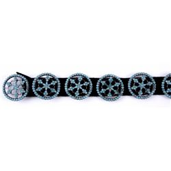 Early Navajo Ladies Concho Belt