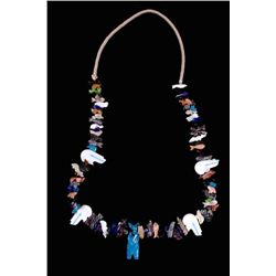 Hopi Animal 1 Strand Fetish Necklace
