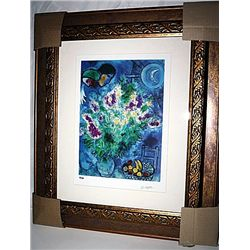 Chagall   Limited Edition - The Still Life With Flowers