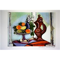 Picasso Limited Edition - Compote Dish And Pitcher By The Window - from Collection Domaine Picasso