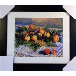 Claude Monet  Limited Edition-Still Life with Pears and Grapes