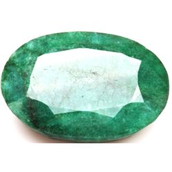 African Emerald Loose Gems 70.35ctw Oval Cut