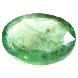 Natural 1.47ctw Emerald Oval Stone