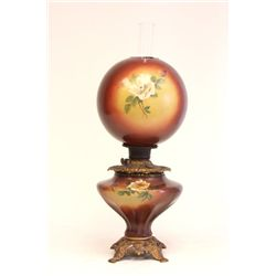 """Gone with the Wind"" oil lamp"