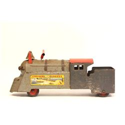 "Mar toy push train engine ""Lightning Express"""