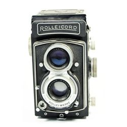 Rolleicord camera