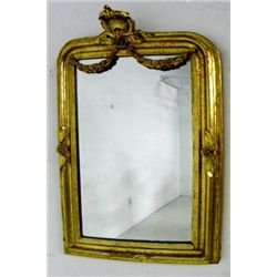 Gilt wood & gesso mirror