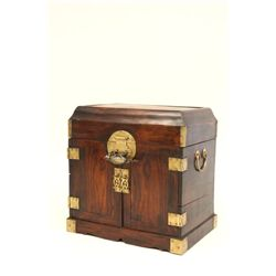 Wooden document box