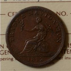Breton # 963, Charlton # NS-19A, ICCS MS-60. Excellent strike and even chocolate brown color.
