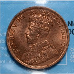 Cent 1919, CCCS MS-64; Red & Brown.