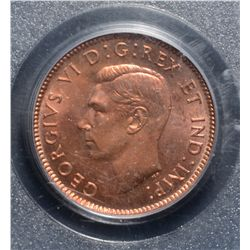 Cent 1944, PCGS MS-64 Red.