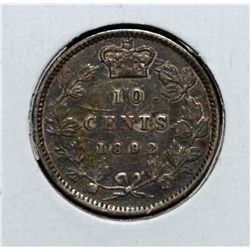 10 Cents 1892 S9 Obv 5 F-15