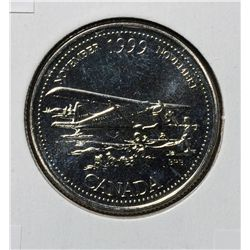 25 Cents 1999 November Mule UNC-64 from set.