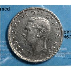 1 Dollar 1948, CCCS VF-20; Cleaned. Key Date