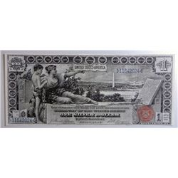 "1896 $1 SILVER CERTIFICATE ""EDUCATIONAL SERIES"" CHOICE CU NICE"