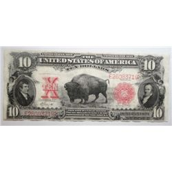 1901 $10 BUFFALO NOTE VF