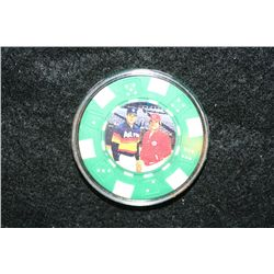 Nolan Ryan & Pete Rose Poker Chip