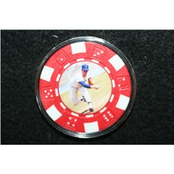 Nolan Ryan Poker Chip