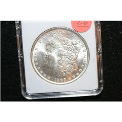 1888 Silver Morgan $1, MCPCG Graded MS63