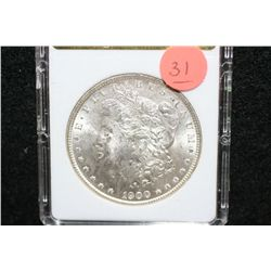 1900 Silver Morgan $1, MCPCG Graded MS62