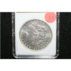 1900-O Silver Morgan $1, MCPCG Graded MS63