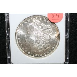 1879-S Silver Morgan $1, MCPCG Graded MS63
