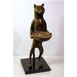Diego Giacometti Original, limited Edition  Bronze -CAT