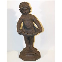 Young Girl Garden Figure