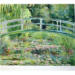 Limited Edition Monet- Japanese Bridge - Collection Domaine Monet