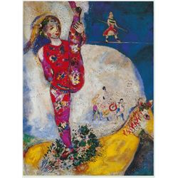 The female acrobat- Chagall - Limited Edition on Canvas