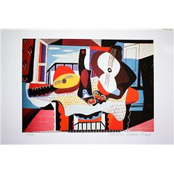 Picasso Limited Edition - Mandolin And Guitar - from Collection Domaine Picasso