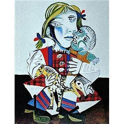 Limited Edition Picasso - Maya With A Doll - Collection Domaine Picasso
