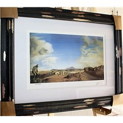 Salvador Dali Signed Limited Edition - The Chemist of Ampurdian