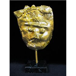 Fernando Valls  Limited Edition   Original Limited Edition 24K Gold Layered Bronze  Sculpture - Boy