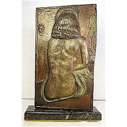 Salvador Dali Original, limited Edition Bronze - Galatea, Nude