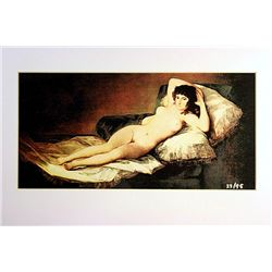 Fransisco Goya  Limited Edition -   NUDE MAYA 