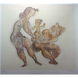 Limited Edition Lithograph by Artist Gross