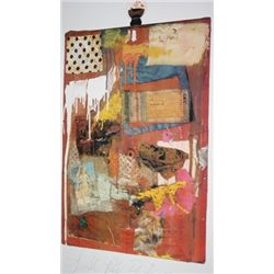 Small Red Painting by Robert Rauschenberg  Lithograph