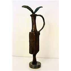 Pablo Picasso Original, limited Edition Bronze -Flower
