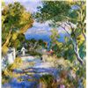 Image 1 : L'Estaque - Renoir - Limited Edition on Canvas