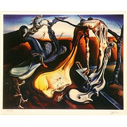 Salvador Dali Signed Limited Edition - Spider of Evening