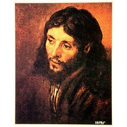 Rembrandt  Limited Edition - HEAD OF CHRIST