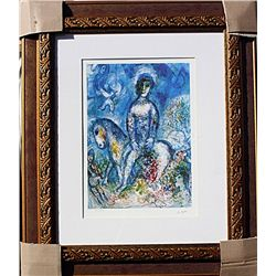 Horsewoman With Doves  - Chagall - Limited Edition