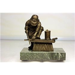 Bronze  Carpenter  by artist Valtune.