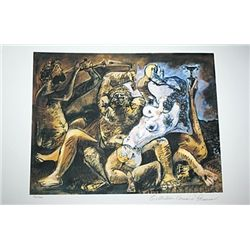 Limited Edition Picasso - Bacchanal - Collection Domaine Picasso