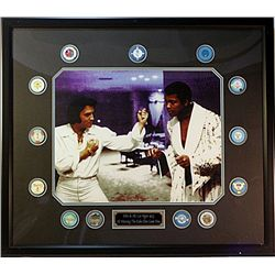 Elvis &amp; Ali   Giclee of both in Las Vegas